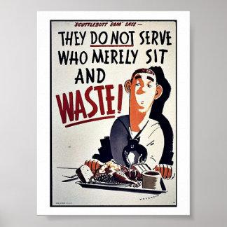 Waste Print