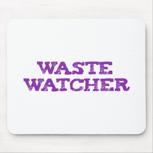 waste wading Cher Mousepads