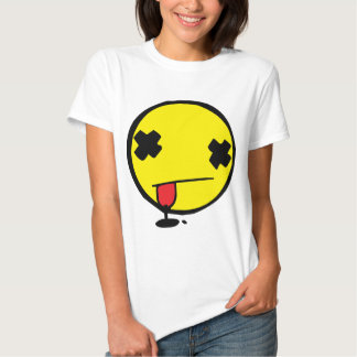 Wasted Smiley Tshirt