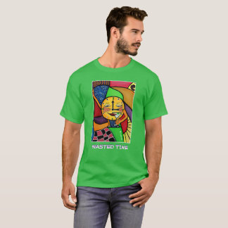 Wasted Time  - Green - Time Pieces T-Shirt