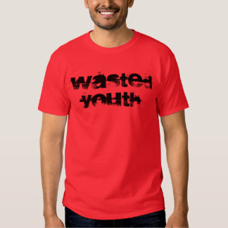 """Wasted Youth"" t-shirt"