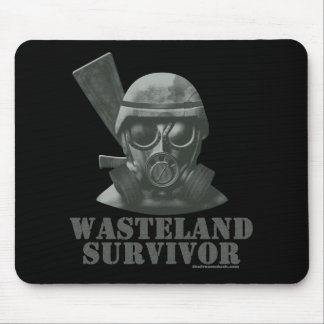 Wasteland Survivor Mouse Pad