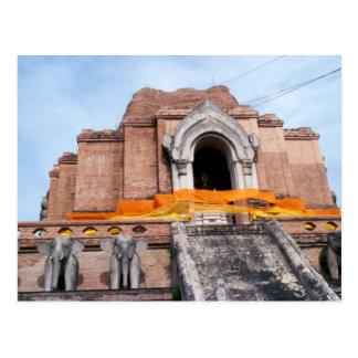 Wat Chedi Luang Postcard