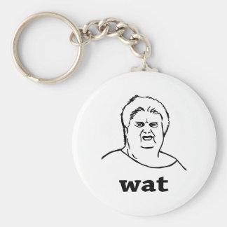 wat basic round button key ring