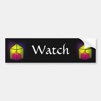 Watch Bumper Sticker