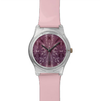 Watch Floral abstract background