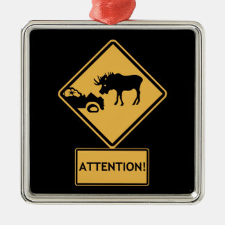 watch for moose christmas ornament