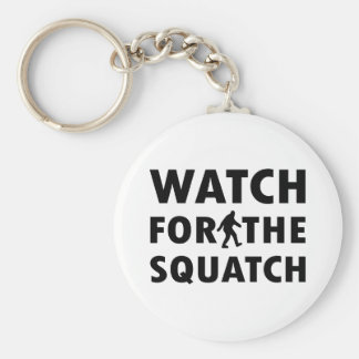 Watch for Squatch Key Ring