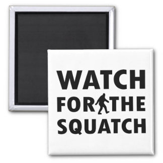 Watch for Squatch Refrigerator Magnet