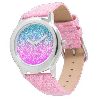 Watch Glitter Graphic