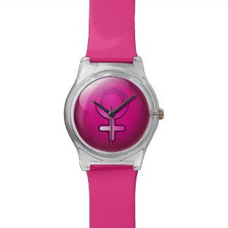 Watch Glossy Gender Woman Symbol