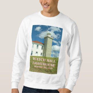 Watch Hill Lighthouse, Rhode Island Sweatshirt