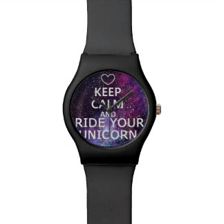 """WATCH """"KEEP CALM AND WRINKLES YOUR UNICORN"""" GALAXY"""