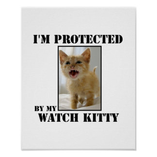 Watch Kitty Protection Poster