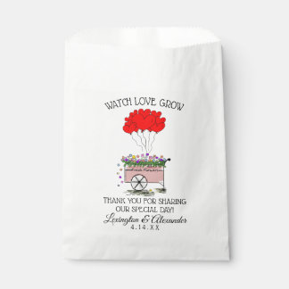 Watch Love Grow Flower Seed Bag |  Wedding Guest