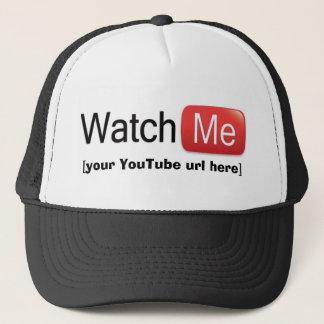 Watch Me on YouTube (Basic) Cap