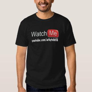 Watch Me on YouTube (Basic) T Shirts