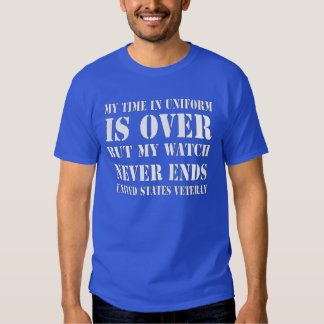 Watch Never Ends T-Shirt (Blue White)