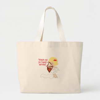 watch Out For Cupid's Arrow! Tote Bag