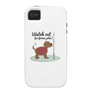 Watch Out For Frozen Poles Case-Mate iPhone 4 Case