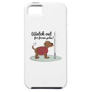 Watch Out For Frozen Poles iPhone 5/5S Case