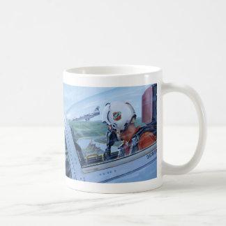 Watch Over the Rhine by Ken Riley Basic White Mug