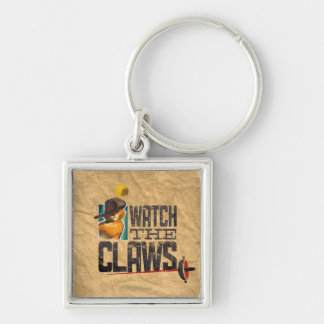 Watch The Claws Key Ring