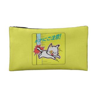 Watch the Door, Subway Sign, Japan Cosmetics Bags