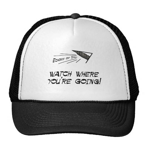 Watch where you're going mesh hat