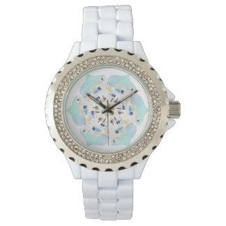 Watch White With Santorini Rosette