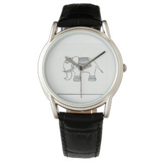 Watch with Indian design