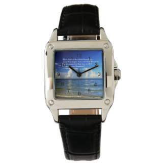 Watch with inspiration, spiritual message
