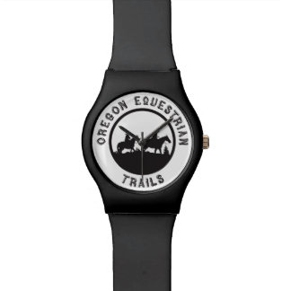 Watch with logo