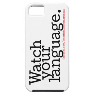 Watch Your Language 2 Case For The iPhone 5