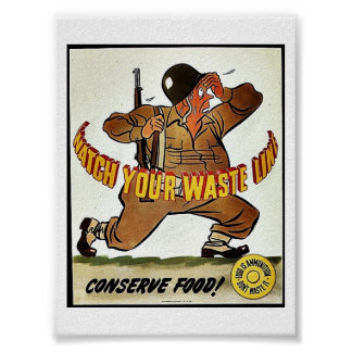 Watch Your Waste Line Print