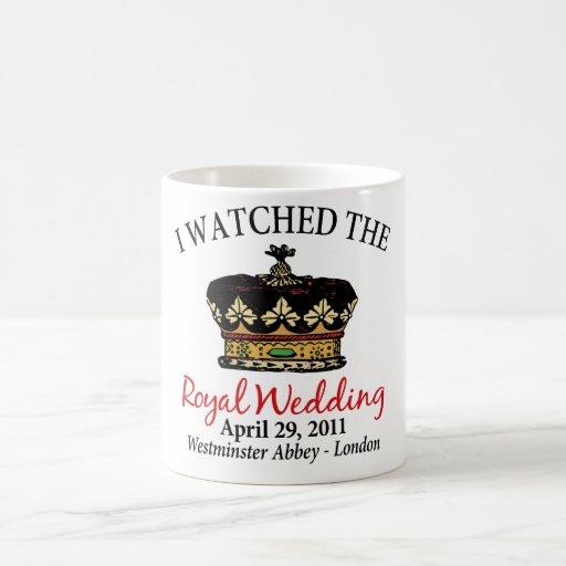 Watched Royal Wedding Coffee Mugs
