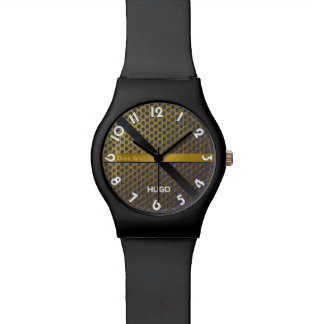 "Watches Dial black May28th ""Dark Gold """
