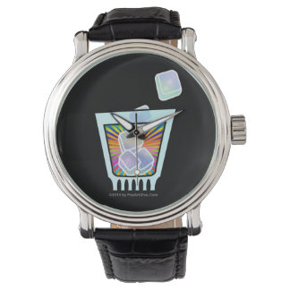 WATCHES - Psychedelic COCKTAIL GLASS