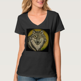 Watchful Eyes Wolf T-shirt