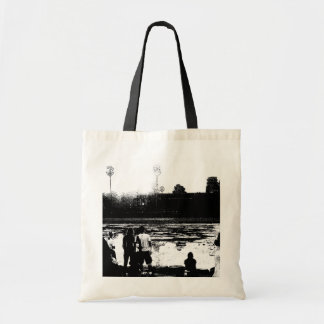 Watching Cambodia Budget Tote Bag