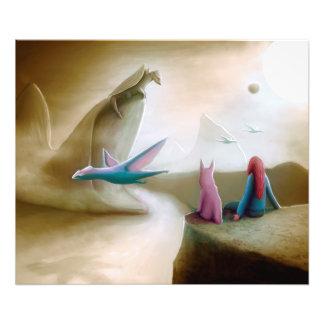Watching Dragons Photo Print