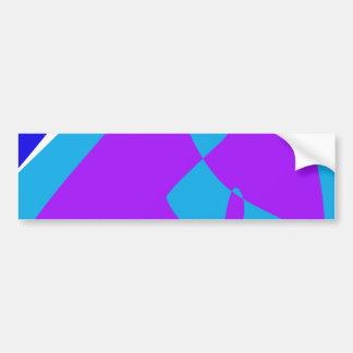 Watching Television Bumper Sticker