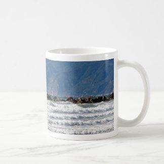 Watching & Waiting_ Mug_by Elenne Boothe Basic White Mug