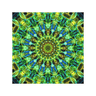 Watching You kaleidoscope Canvas Print