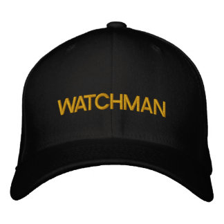 WATCHMAN / by: Opal01 Embroidered Hat