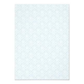 WATER034 RAINDROPS LIGHT BLUE WHITE CARTOON WEATHE 13 CM X 18 CM INVITATION CARD