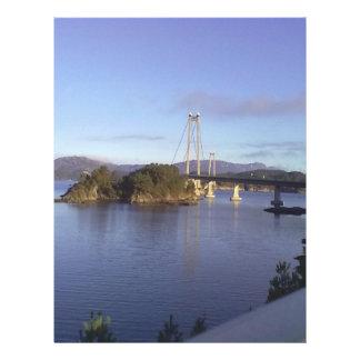 Water and Bridge Custom Flyer