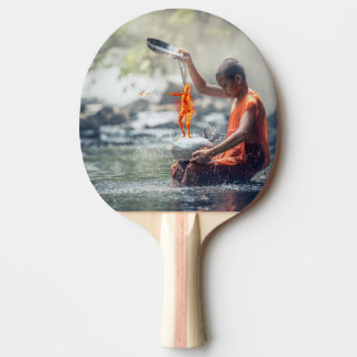 Water and Fire Ping Pong Paddle
