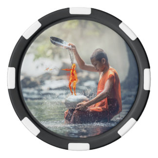 Water and Fire Poker Chips