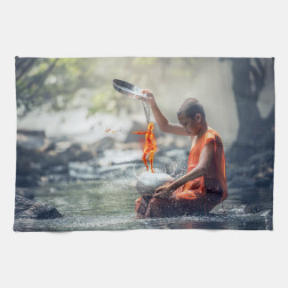 Water and Fire Tea Towel